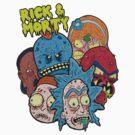 Rick and Morty Universe  by Stove  Aya