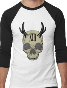 Skull XIII Men's Baseball ¾ T-Shirt