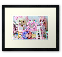 Hide and you shall seek Framed Print