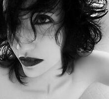 The Realm In-between - Self Portrait by Jaeda DeWalt