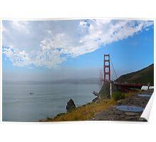 Golden Gate Bridge from Vista Point Poster
