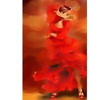 Flamenco dancer Photographic Print