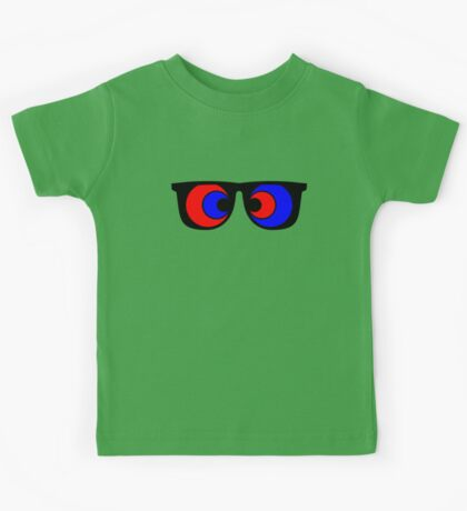 Crosseyed in 3d Kids Tee