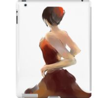 Flamenca12 iPad Case/Skin