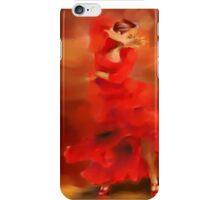 Flamenco dancer iPhone Case/Skin