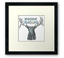 Imagine Dragons Deer Framed Print