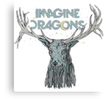 Imagine Dragons Deer Canvas Print