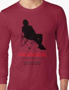 Alonso F1 - #PlacesAlonsoWouldRatherBe Long Sleeve T-Shirt