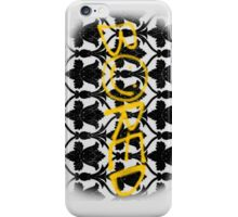 Sherlock is Bored iPhone Case/Skin