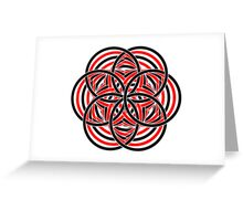 It's All Circles 3 Greeting Card