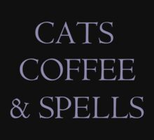Cats, Coffee & Spells by Debbie D