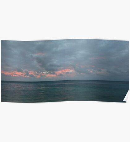 Cantrell Seascape Poster