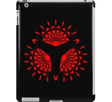 Triangular Fans Pattern iPad Case/Skin
