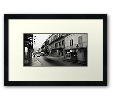 New Orleans at Dawn Framed Print