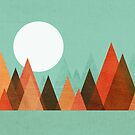 From the edge of the mountains by Budi Satria Kwan