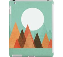From the edge of the mountains iPad Case/Skin