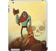 billy the barbarian  iPad Case/Skin