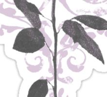 Vintage Lilac Rose Sticker