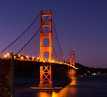 The Golden Gate by lifeinfineart