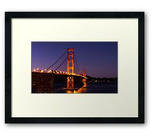 The Golden Gate Framed Print
