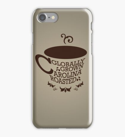 Coffee Carolina iPhone Case/Skin