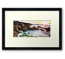 Morning Seascape Framed Print