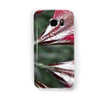 Red Flowers Of Eden Samsung Galaxy Case/Skin