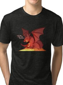 Smaug the Kawaii Tri-blend T-Shirt