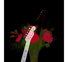Guitar Flowers 2 by lifeinfineart