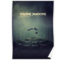 Imagine Dragons Album Morph-Green Poster