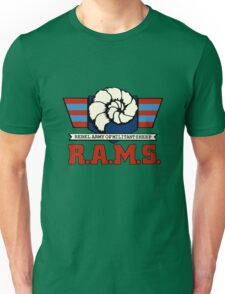 Barnyard Commandos - R.A.M.S. - Logo - Color Unisex T-Shirt