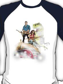 Cadillacs and Dinosaurs - Color T-Shirt