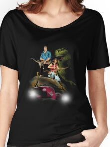 Cadillacs and Dinosaurs - Color Women's Relaxed Fit T-Shirt