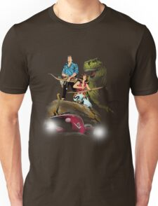 Cadillacs and Dinosaurs - Color Unisex T-Shirt