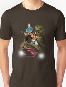 Cadillacs and Dinosaurs - Color T-Shirt