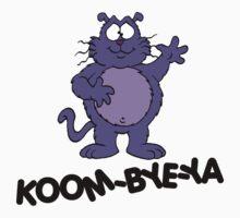 Eek the Cat - Koom-Bye-Ya - Black Font by DGArt
