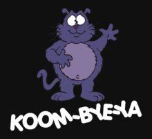Eek the Cat - Koom-Bye-Ya - White Font Kids Clothes
