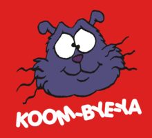 Eek the Cat - Koom-Bye-Ya - Head - White Font by DGArt