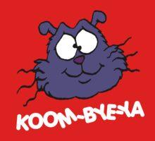 Eek the Cat - Koom-Bye-Ya - Head - White Font Kids Clothes