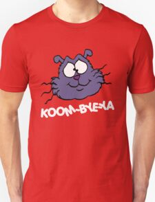 Eek the Cat - Koom-Bye-Ya - Head - White Font T-Shirt