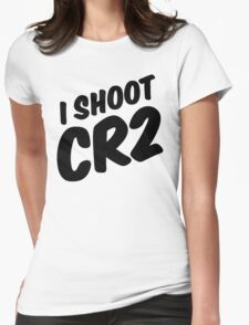 I shoot CR2 Womens Fitted T-Shirt