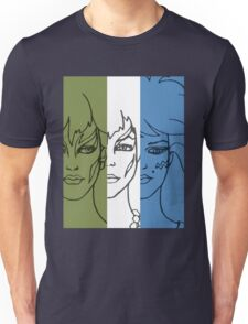 Jem and The Holograms - The Misfits Striped - Color T-Shirt