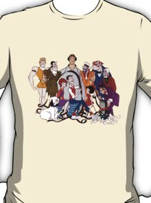 Jerry Lewis - Group - Color T-Shirt