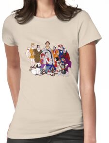 Jerry Lewis - Group - Color Womens Fitted T-Shirt