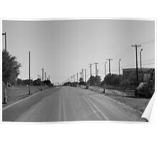 Empty Miles Poster