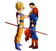 Goku and Superman by Timanator3000