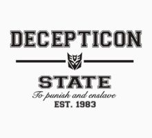 Decepticon State (Black) by TheSassmaster
