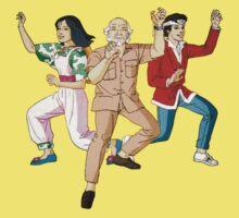The Karate Kid - Group - Color Kids Tee