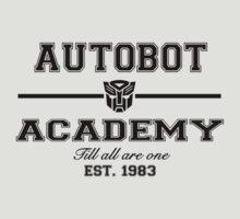 Autobot Academy (Black) by TheSassmaster