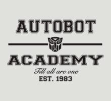 Autobot Academy (Black) by TheSassmaster